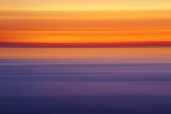 Абстрактные цвета захода солнца, Стоковые Фотографии RF