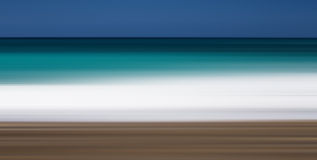 Абстрактные цвета пляжа Стоковое Фото