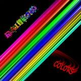 Абстрактные цвета радуги предпосылки Стоковые Фотографии RF