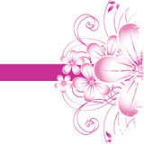 абстрактные цветки предпосылки бесплатная иллюстрация