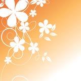 абстрактные цветки предпосылки иллюстрация штока