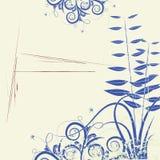 абстрактные цветки предпосылки Стоковые Фото