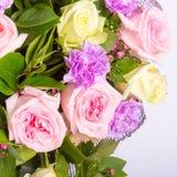 абстрактные цветки предпосылки Конец-вверх Стоковая Фотография RF