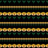 абстрактные цветки предпосылки Стоковое Изображение