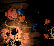 абстрактные цветки Стоковая Фотография RF