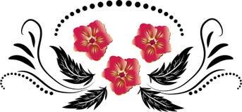 абстрактные цветки Стоковая Фотография