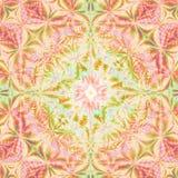 абстрактные цветы предпосылки конструируют шаблон лета весны Стоковая Фотография