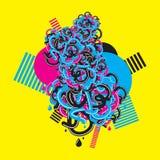 абстрактные цветы Стоковые Фото