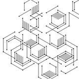 Абстрактные цифровые линии стоковые изображения rf