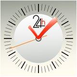 абстрактные часы символов Стоковые Изображения RF