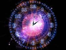 Абстрактные часы Стоковая Фотография RF
