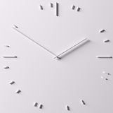 Абстрактные часы Стоковое Изображение