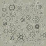 абстрактные шестерни предпосылки Стоковые Изображения