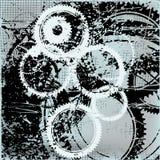 абстрактные шестерни предпосылки иллюстрация штока