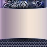 абстрактные шестерни предпосылки Стоковая Фотография