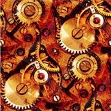 абстрактные шестерни clockwork Стоковые Изображения