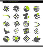 абстрактные элементы конструкции Стоковые Фото
