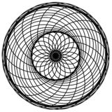 Абстрактные элементы кругов Dreamcatcher Астрология, духовность, волшебный символ Этнический племенной элемент бесплатная иллюстрация