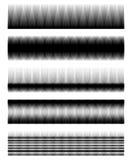 Абстрактные элементы с линиями параллели вертикали прямыми иллюстрация вектора