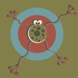 Абстрактные лягушка или микроб Стоковое фото RF