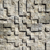 Абстрактные яркие каменистые кубы Стоковая Фотография RF