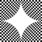 абстрактные chessboar формы Стоковая Фотография RF