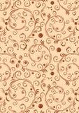 абстрактные curles предпосылки Стоковое фото RF