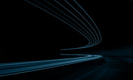 Абстрактные lihts дороги стоковая фотография rf