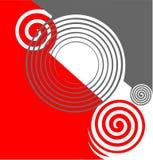 абстрактные twirls текстуры Стоковое Изображение