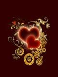 абстрактные valentines дня стоковое фото rf