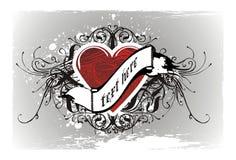 абстрактные valentines предпосылки Стоковые Фото