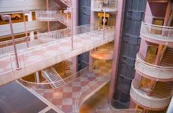 абстрактный авиапорт архитектурноакустический Стоковая Фотография