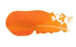 Абстрактный акриловый ход щетки цвета изолировано стоковая фотография
