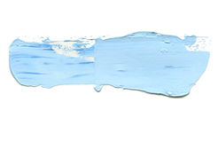 Абстрактный акриловый ход щетки цвета изолировано Стоковые Фотографии RF