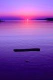 Абстрактный ландшафт моря Стоковые Фото
