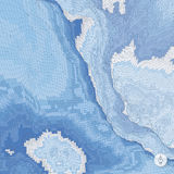 абстрактный ландшафт предпосылки Вектор мозаики Стоковые Фотографии RF