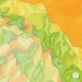 абстрактный ландшафт предпосылки мозаика Стоковое фото RF