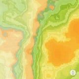 абстрактный ландшафт предпосылки мозаика 3d Стоковая Фотография RF