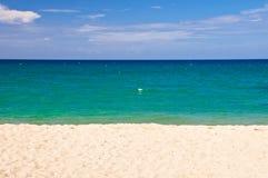 Абстрактный ландшафт пляжа Стоковое фото RF