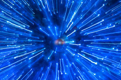 абстрактный атом Стоковое фото RF