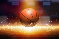 абстрактный баскетбол Стоковое фото RF