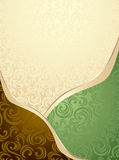 Абстрактный безшовный зеленый цвет картины или предпосылки и   Стоковые Изображения RF