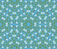 Абстрактный безшовный цветочный узор Стоковые Изображения
