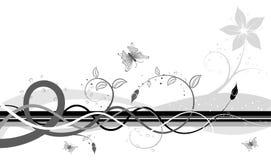 абстрактный беспорядок флористический Стоковое Изображение