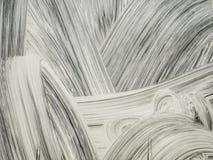 Абстрактный белый мазок краски стоковые фото