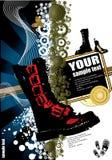 абстрактный ботинок иллюстрации Стоковые Фото