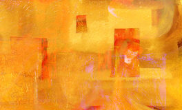 Абстрактный бумажный коллаж Стоковое Фото