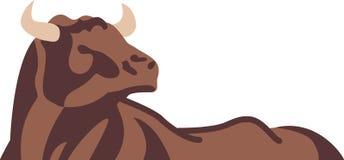абстрактный бык Стоковая Фотография