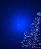 абстрактный вал ornamental рождества Стоковые Изображения RF