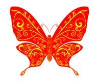 абстрактный вектор бабочки Стоковое Изображение RF